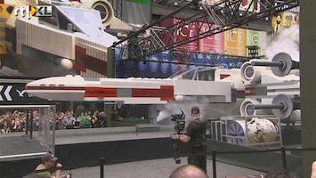RTL Nieuws Ruimteschip Star Wars van Lego