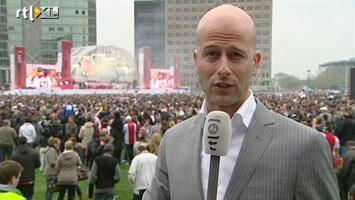 RTL Nieuws Landskampioen Ajax gehuldigd