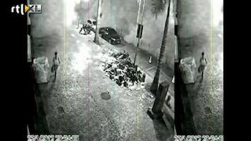 RTL Nieuws Camera registreert instorten gebouwen