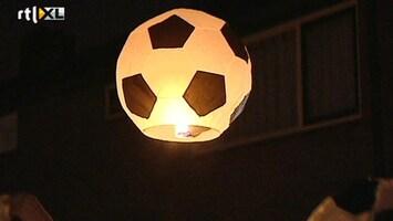 Voetbalfans De ballen!