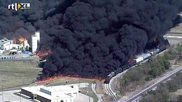 RTL Nieuws Grote brand in chemische fabriek