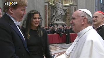 RTL Nieuws Paus Franciscus officieel geïnstalleerd