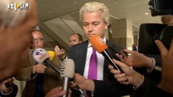 RTL Nieuws Wilders en andere fractieleiders willen helderheid