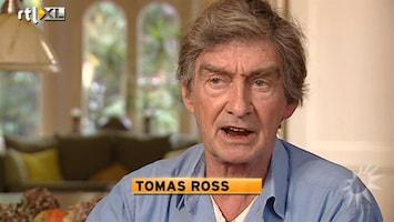 RTL Boulevard Nieuw boek Tomas Ross uit