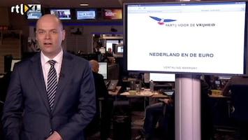 RTL Nieuws 'Economische nattigheid' bij PVV-rapport