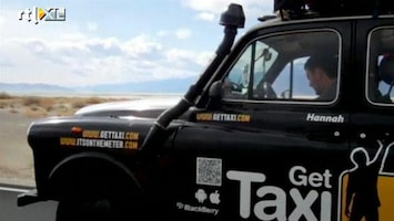 RTL Nieuws Een reis rond de wereld in een taxi