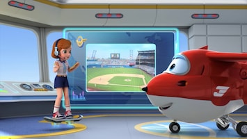 Super Wings Home run Julio