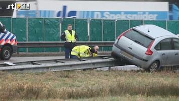 RTL Nieuws Agent gewond geraakt bij schietpartij op A50