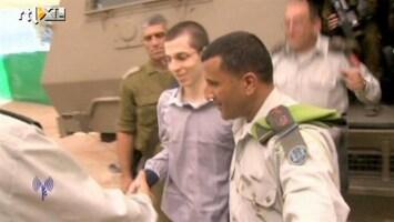RTL Nieuws Gilad Shalit opgelucht na vrijlating