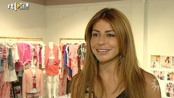 RTL Boulevard Olcay showt collectie SuperTrash Girls tijdens Amsterdam Fashion Week