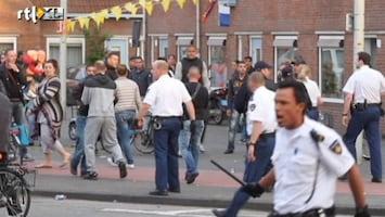 RTL Nieuws Onrust door politie-inval Den Haag