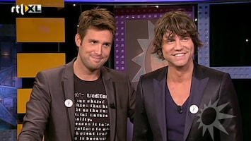 RTL Boulevard Nick & Simon aan de desk!