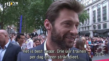 RTL Boulevard Hugh Jackman weer in actie met The Wolverine