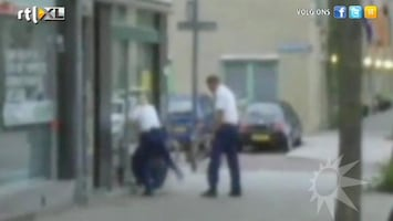 RTL Boulevard Agente schopt arrestant