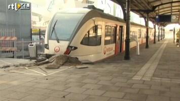 RTL Nieuws Gewonden bij ongeluk station Nijmegen