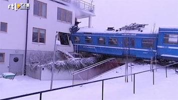 RTL Nieuws Schoonmaakster ramt flat met gestolen trein