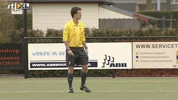 RTL Nieuws Amateurs bij gele kaart 10 minuten afkoelen