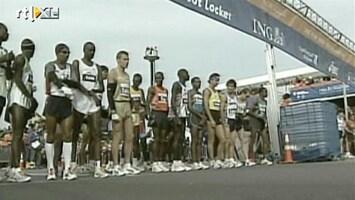RTL Nieuws Sandy bedreigt marathon van New York
