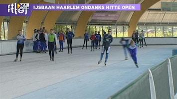 RTL Nieuws Mooi weer of niet: de ijsbaan gaat open