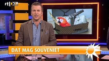 RTL Boulevard Boete voor vakantiesouvenirs