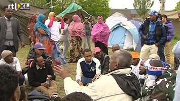 RTL Nieuws Iraakse asielzoekers Ter Apel krijgen uitstel