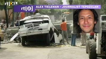 RTL Nieuws Ooggetuige aardbeving Mexico