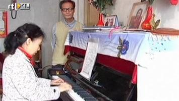 RTL Nieuws 20 jaar afval sparen voor een piano