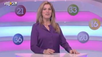 Editie NL Lucille doet sexy loopje tijdens Lingo