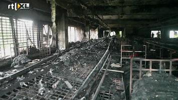 RTL Nieuws Opnieuw brand in kledingfabriek Bangladesh