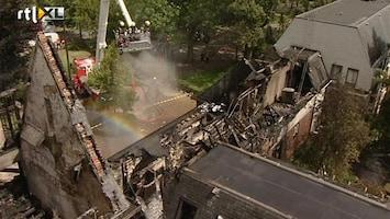 RTL Nieuws Gemeentehuis Waalre verwoest door aanslag
