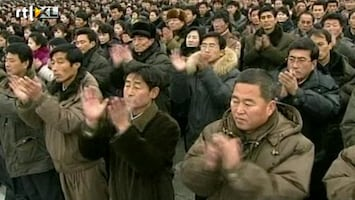 RTL Nieuws Grootse viering raketlancering Noord-Korea