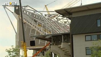 RTL Nieuws Basisconstructie Twentestadion was niet af