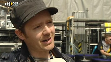 RTL Nieuws Dazzled Kid op Bevrijdingsfestival