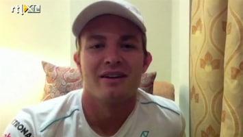 Rtl Gp: Formule 1 - Nico Rosberg Over Gp Bahrein