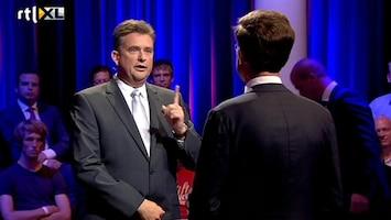 RTL Nieuws Roemer boos om 'leugentje' Rutte tijdens debat