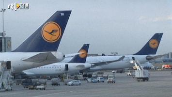 RTL Nieuws Staking bij Lufthansa, vluchten geschrapt
