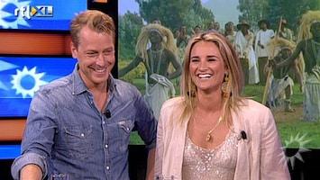 RTL Boulevard Lieke en Mark terug in Nederland na bezoek aan Rwanda