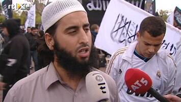 RTL Nieuws Demonstratie tegen islamfilm op Museumplein rustig verlopen