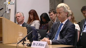 RTL Nieuws Wilders blijft in beklaagdenbankje