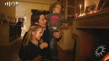 RTL Boulevard Sinterklaas vieren bij Lodewijk Hoekstra