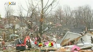 RTL Nieuws Ravage door tornado's VS