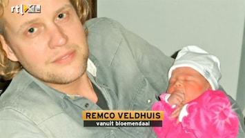 RTL Boulevard Trotse papa Remco Veldhuis showt dochter Lexi