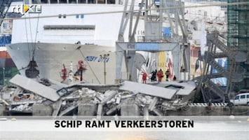 RTL Nieuws Schip ramt verkeerstoren: zeker 7 doden