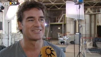 RTL Boulevard Opnames nieuwe clip Jeroen van der Boom