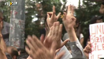 RTL Nieuws Rellen en protesten tegen regering Erdogan