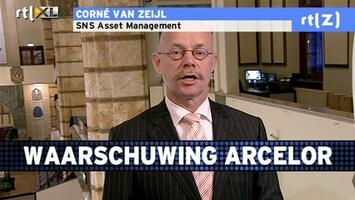 RTL Z Voorbeurs Winstwaarschuwing ArcelorMittal zat al in verwachtingen