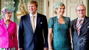 RTL Boulevard Denemarkten ontvangt koningspaar