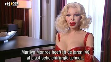 RTL Boulevard Marilyn Monroe lookalike