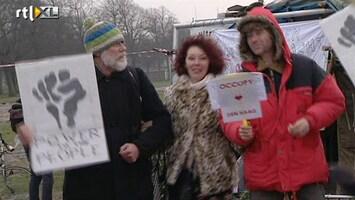 RTL Nieuws Haagse Occupy'ers weigeren te vertrekken