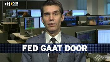 RTL Z Voorbeurs Uitspraken Fed zijn bevestiging beleid, maar wel positieve zet